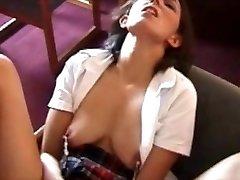 Big Nipple Tramp Fucks Her Pussy!!!!!!!