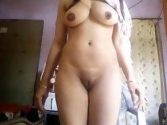 Super Hot Big Titties Desi Girl Nude Selfie