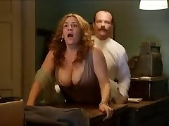 Pamela Flores - Doggystyle Big Tits Jiggle (Orgy scene)