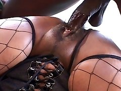 Big ass and tits dark-hued chick ravages like hell