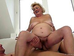 Exotic pornstar in Extraordinaire Blonde, Mature adult scene