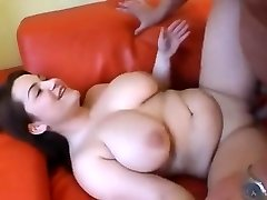 Nice Chubby girl having tits sucked and fucked
