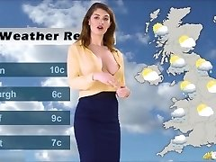 Katie's weather forecast, with no Boulder-holder underneath