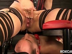 Moist and dirty female dominance from MonicaMilf - Norwegian facesitting
