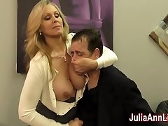 Julia Ann Milks Sonny before his Rendezvous!