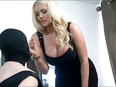 British Goddess Humiliates Her Submissive Cuckold Husband