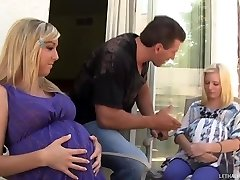 Hot Blond Nubiles Callie And Elaina Get Preggers