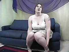 Rowan  BBW Gets Spanked And Plumbed