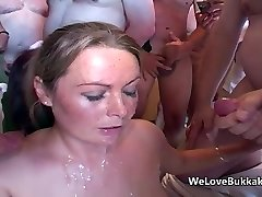 Cheap sluts cum party