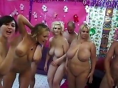 Thick Bra-stuffers Women Orgy - they make men mad