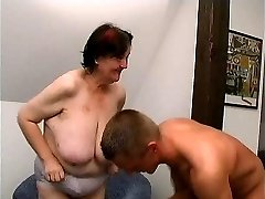 young man fucks 70 yo gross fat granny oma