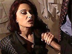 Erica Bella get ravaged in the wc