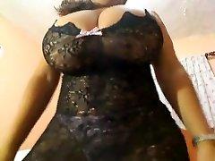 Horny homemade Solo Girl, Big Tits sex clip