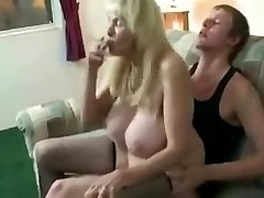 Incredible Amateur movie with Stockings, Smoking scenes