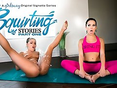 Adriana Chechik & Megan Rain in Splashing Stories: Part One - GirlsWay