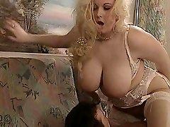 British Plumper Kirsten Halborg anal fucked face cummed