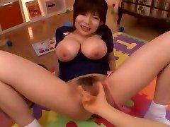 Crazy Chinese fuckslut Yui Serizawa in Exotic POV, Fingering JAV video