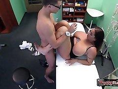 Big tits pornstar hardcore with cum shot