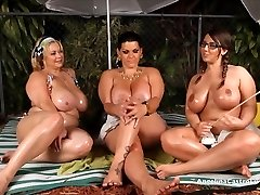 Angelina Castro OutDoors Oily Three-way and Fuck-fest Stories!