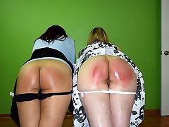 Justice is Served: Caroline and Cheshire - (Spanking)