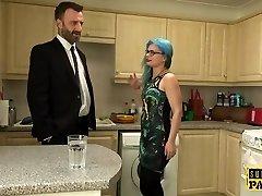 British spex whore spanked into submission