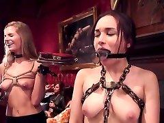 DZ BDSM Private PARTY PART1 BIG Mounds MATURE