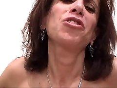 Big Titty Ugly MILF Deep-throats Fuck-stick & Gets Titty Fucked