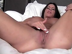 Angela Salvagno and Her Gigantic Clit