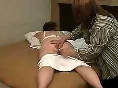 ENEMA thick ache hurts of a fat teen