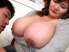 Inhaling Asian Boobs