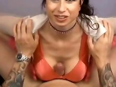 Big-chested MILF - POV Titfuck Handjob Blowjob