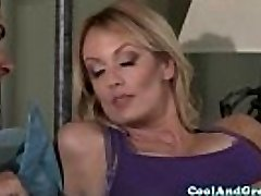 Hugetitted Stormy Daniels luvs morning fuck