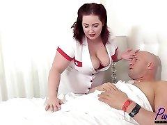 nurse Eliza revitalizes the stiffy