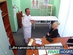 FakeHospital Muddy doctor fucks busty porn starlet