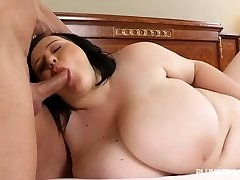 Busty Teenage BBW Catches Teacher Sunbathing in the Nude