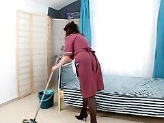 boy pummel hairy mature maid