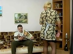 old maid & boy-homie