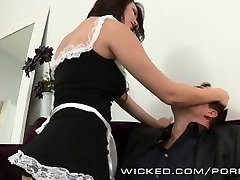 Holly Michaels is one super-hot maid
