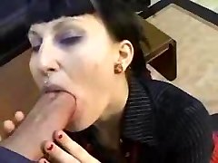Goth Punk Girl Gets Penetrated My Huge Cock