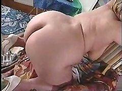 BBW closeup bootie spreading