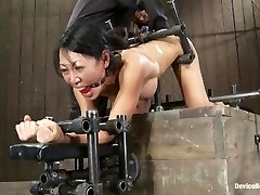 Tia Ling- Such a lil' culo, such a huge machine cock!