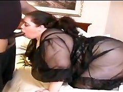 Bbw Milky Wife Fucks Small Dark-hued Dick