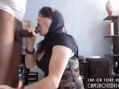 Submissive Arab Wife Pleasing Her Husband