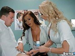 Horny Cougar Nurses at the Hospital