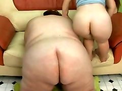 Lucky Fellow Humps the SSBBW and The MIDG3T