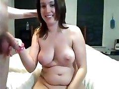 Amateur Webcam Sex And Cream Pie