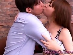 Japanese milf Erina Moa love button stimulated with fucktoys