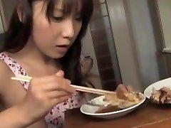 Momo Aizawa has shaved twat slurped and pounded