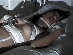 Purple Haired Gothic Asian Puts On One Insatiable Fetish Show