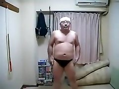 Glamour Horny Japanese Masculine Dancing